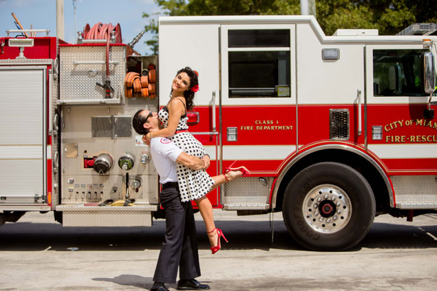 Fire Station Engagement Shoot