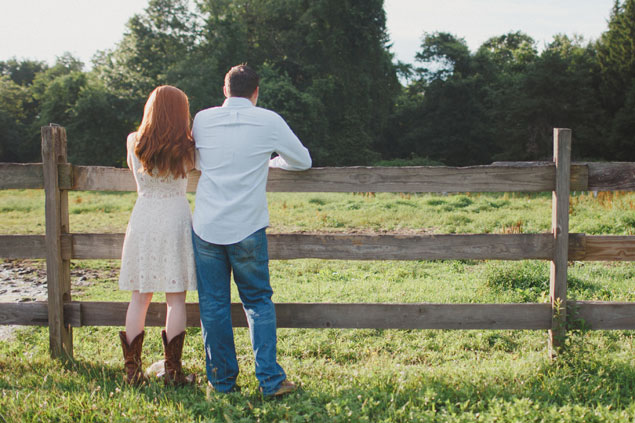 Rustic Engagement Shoot
