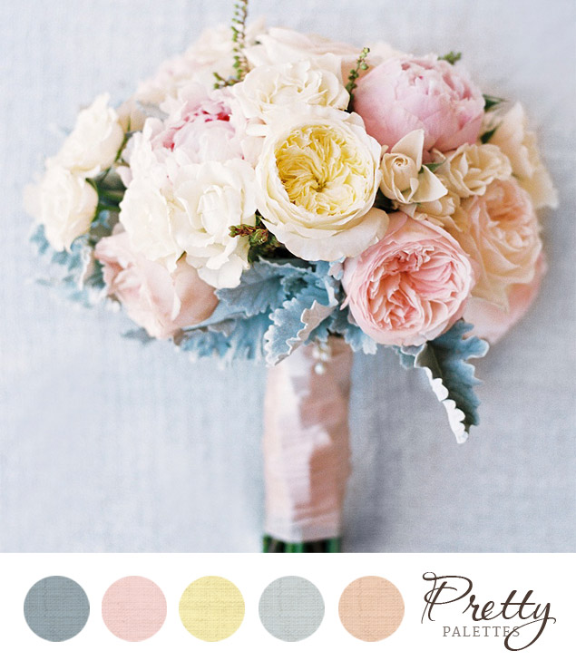 pretty spring color palette