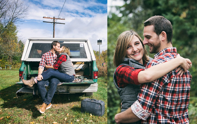 Rustic Cottage Engagement Shoot