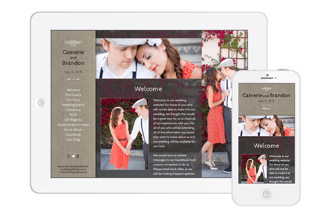 Mobile-Friendly Wedding Websites