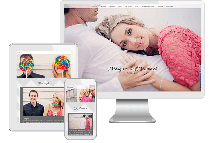 how to create marriage website