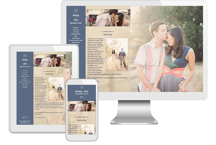 Responsive Wedding Websites