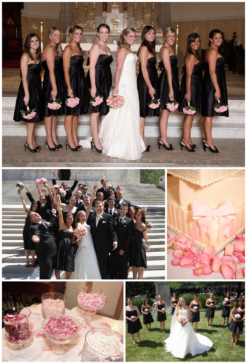 Wedding Colors That Will Tickle You Pink Black