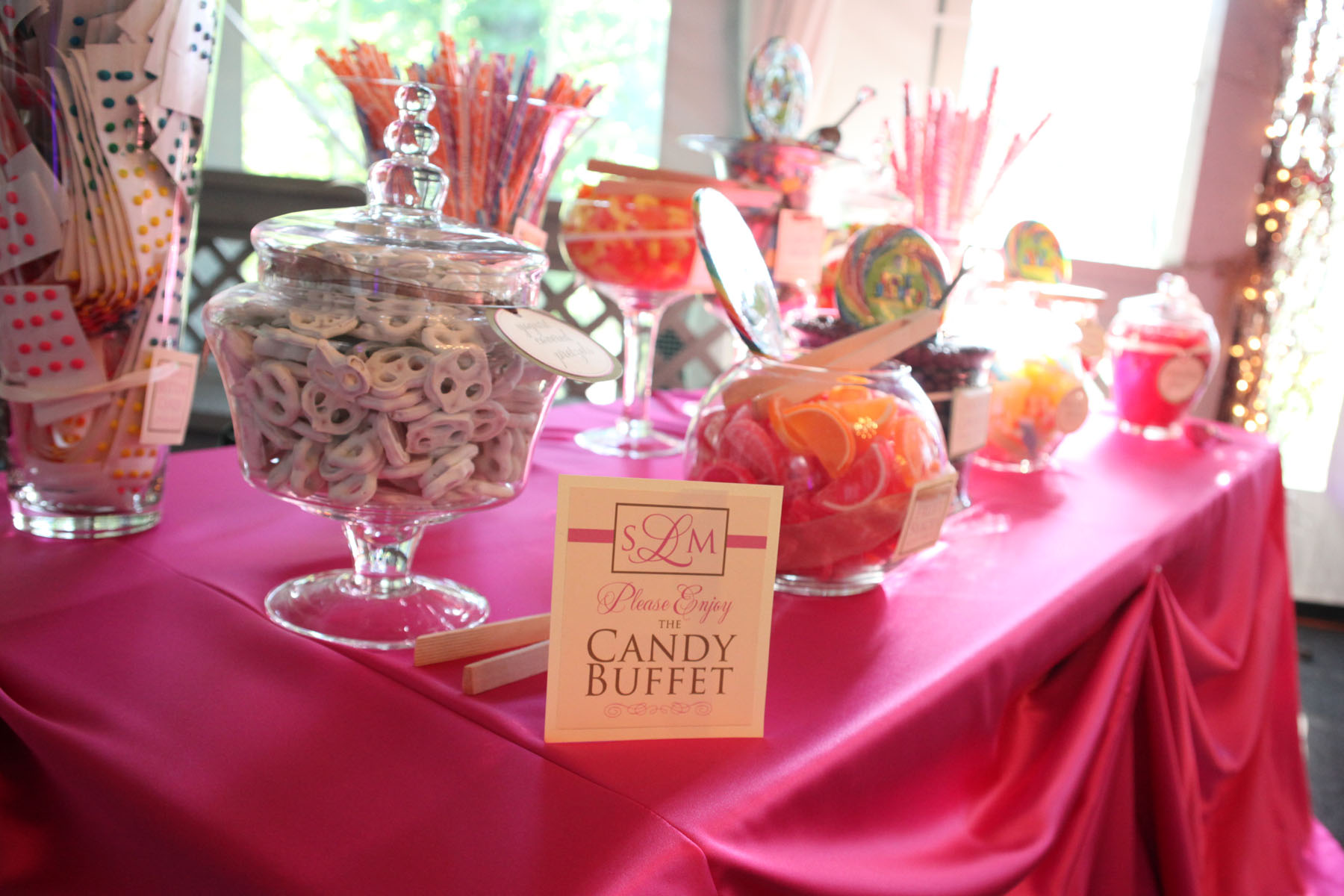 Must Have Candy Cookie Popcorn Buffets