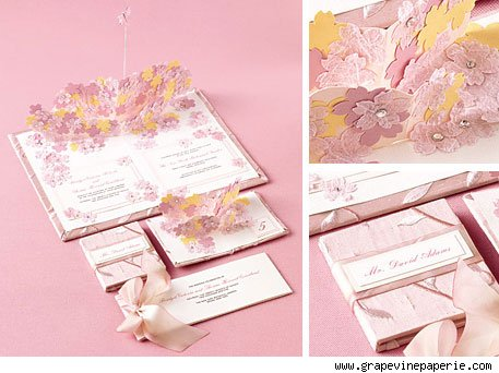 Pop Up Wedding Invitations