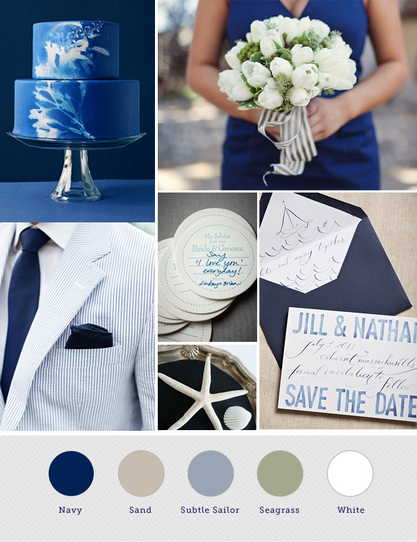 Pin It Of Course The Ideal Nautical Themed Wedding