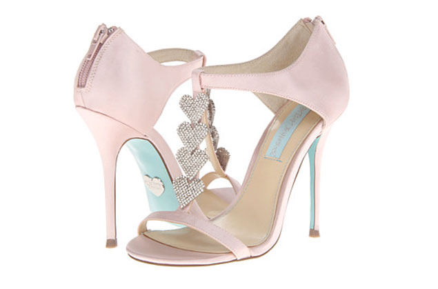 Powder Pink Wedding Shoes